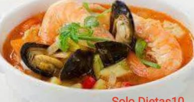 como hacer sopa de mariscos facil