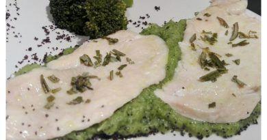 como hacer pollo con crema de brócoli